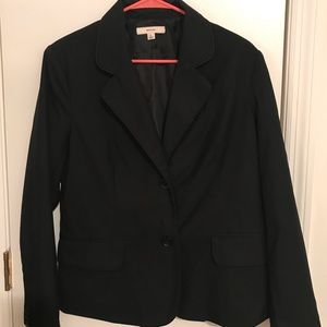 Large Black Blazer